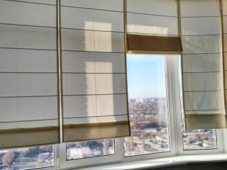 римская штора на пластиковые окна