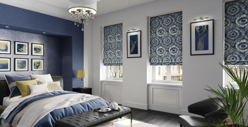 римские шторы в комнату