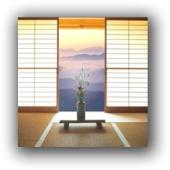японскі штори